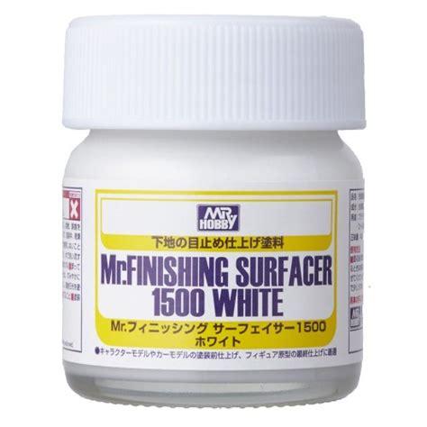 Dijamin Mr Finishing Surfacer 1500 White mr finishing surfacer 1500 white 40 ml