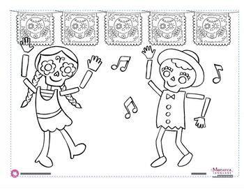 dia de los muertos altar coloring pages 126 best images about spanish literacy on pinterest