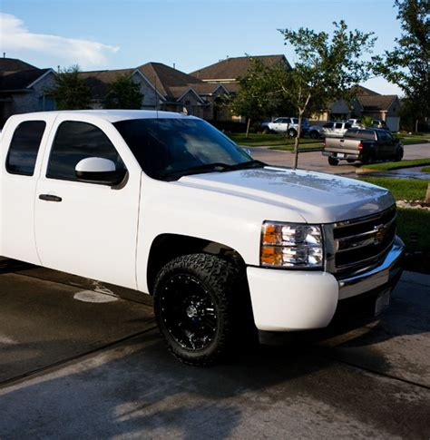 biggest tires  fit nbs  stock truck  suggestions  wheels chevy truck forum