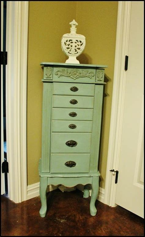 jewelry armoire makeover drawer pulls pastel colors and armoire makeover on pinterest