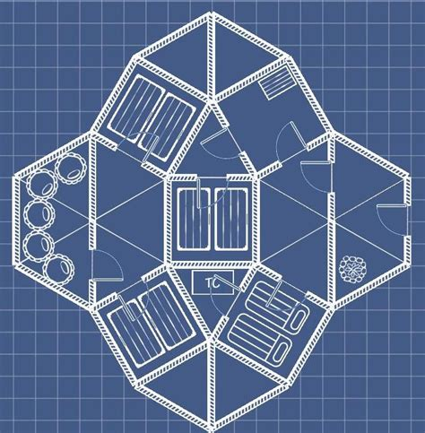 One Story Floor Plan by 1 2 Player Base Small Amp Expensive To Raid Playrust