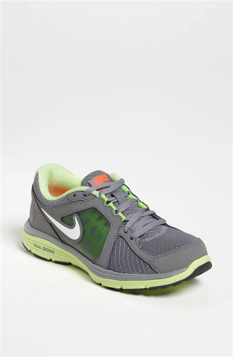 lime green nike shoes nike dual fusion 3 running shoe in gray cool grey white