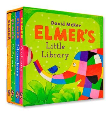 elmers little library 1783443960 elmer s little library 4冊合售 concept books 誠品網路書店