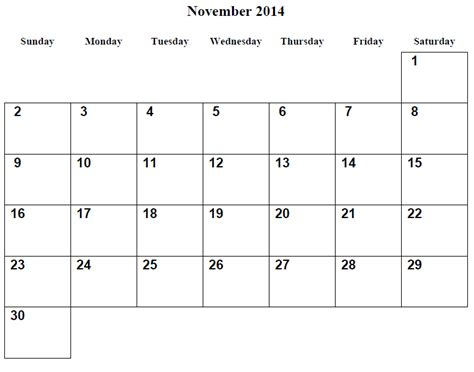 free february 2015 calendar template 7 best images of monthly printable calendars november 2014
