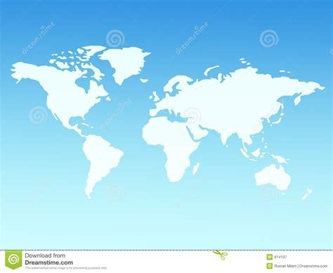 royalty free world map world map royalty free stock photography image 614107