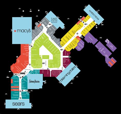 park city mall map park city mall map town center at boca raton fl