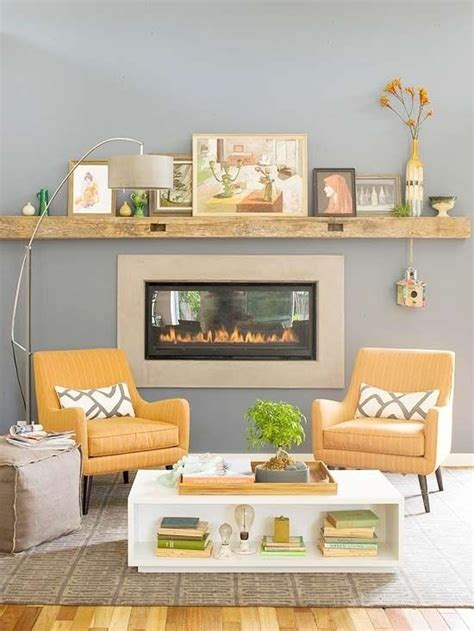 yellow fireplace easter spring decorating ready set go house of j