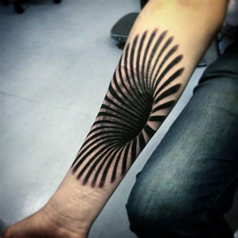 stunning 3d tattoo by gunnar foley