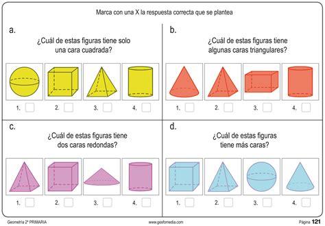 figuras geometricas segundo de primaria fichas de geometr 237 a de segundo de primaria