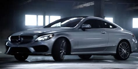 mercades usa the mercedes usa c class coupe spot is a quot don t try
