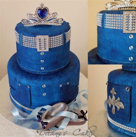 Delana's Cakes: Denim and Diamonds Cake