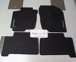 toyota rav rubber floor mats ebay