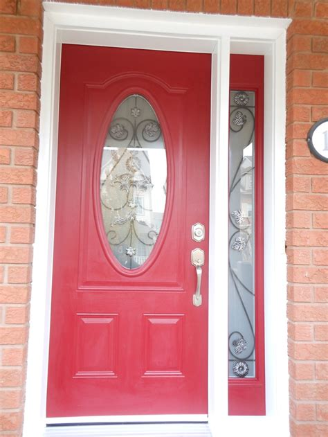 front door with oval window oval glass door with side lite front doors
