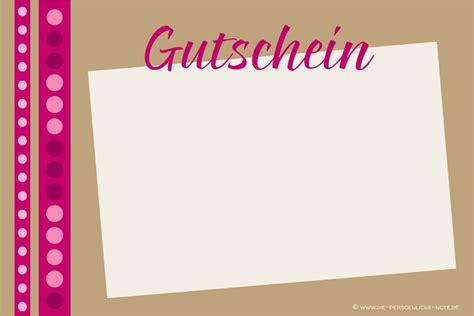 Kostenlose Vorlage Gutschein Pin Gutschein Vorlage On
