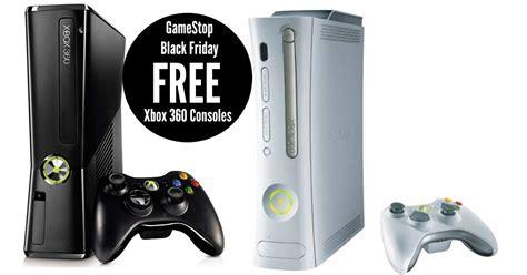 gamestop xbox console gamestop free xbox 360 consoles on black friday
