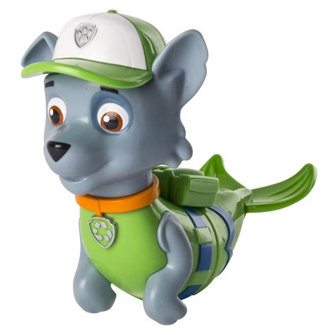 what of is rocky from paw patrol spin master paw patrol paw patrol bath paddlin pup rocky merpup