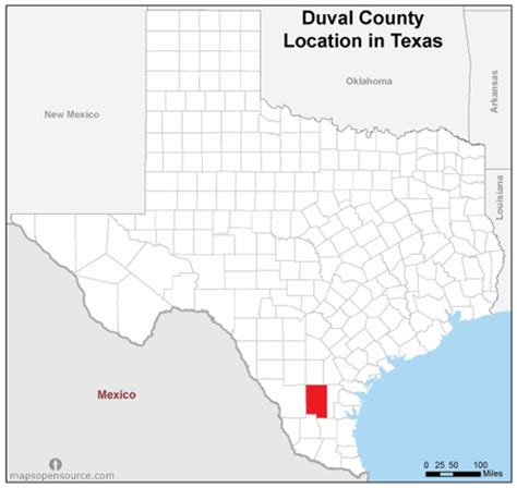 Records Duval County Free And Open Source Location Map Of Duval County Mapsopensource