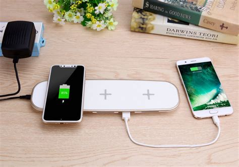 best charging pad this wireless charging pad works with 3 devices like apple