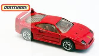 Matchbox F40 Matchbox Cars Collection F40 F50 Testarossa Lesney