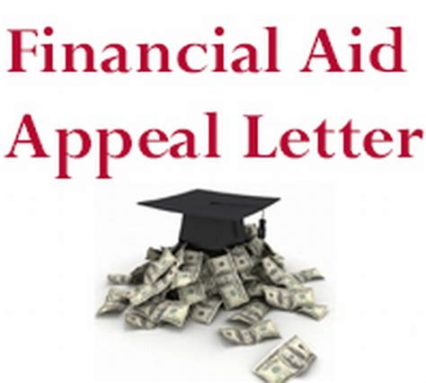 Financial Aid Appeal Letter financial aid appeal letter