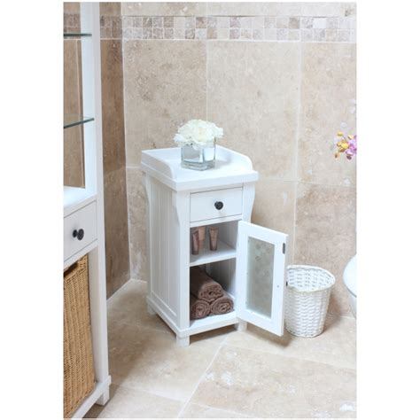 white bathroom table hton small glazed bathroom cabinet l table solid