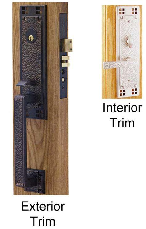 Craftsman Door Hardware by Emtek Craftsman Brass Mortise Lock Shop Locks Hardware