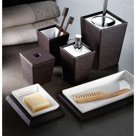 leather bathroom accessories 17 best images about bathroom accessories on pinterest