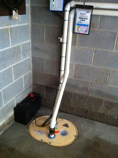 install sump in basement sump installation in bethany ct