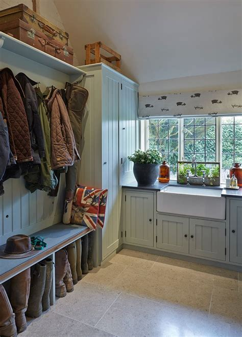 Primitive Dining Room Furniture by Utility And Boot Rooms Sarah Maidment Interiors