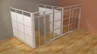 Glass Wall Room Divider Architectual Wall System L Modern Glass Wall Office Cubicle With Doors Demountable Walls Room