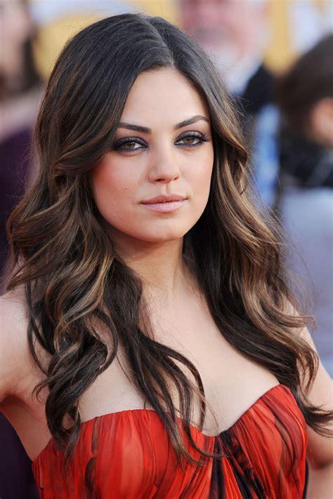 Mila Kunis Hairstyle by Mila Kunis Hairstyles Brand New Ideas Trendy Hairstyles