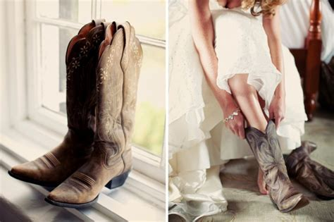 Wearing Cowboy Boots on your Wedding Day! [Updated 2019]