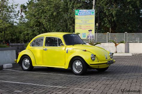 volkswagen yellow beetle yellow vw beetle 1303 banda aceh indonesia with air con