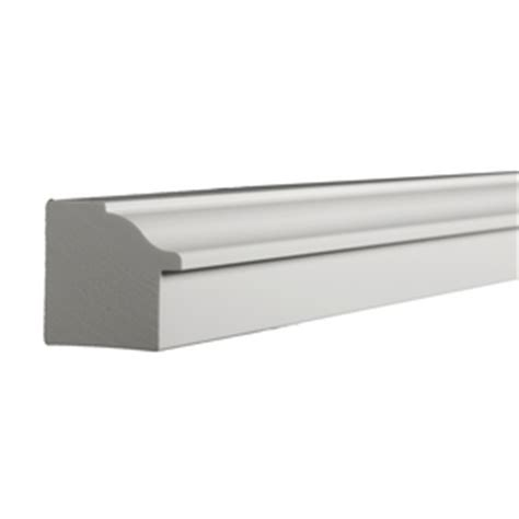 Pvc Exterior Window Sill Shop Azek 1 187 In X 12 Ft Interior Exterior Pvc Sill Nose
