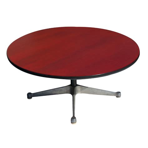 vintage crimson herman miller side coffee table ebay