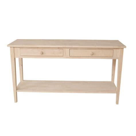 Sofa Table 60 by Spencer Sofa Table 60 Generations Home Furnishings
