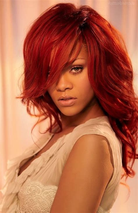 rinna haircolor the 25 best ideas about rihanna red hair on pinterest
