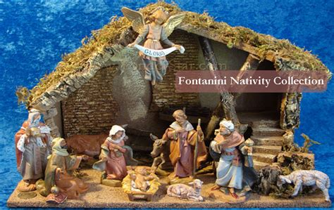yonderstar outdoor nativity fontanini nativity wooden