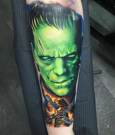 frankenstein tattoo frankenstein on guys forearm best ideas designs