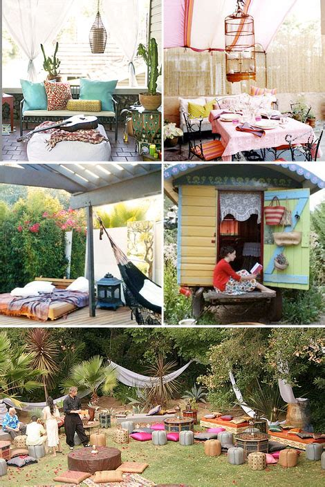 Bohemian Backyard by Bohemian Gardens Backyard Bliss Boho Circus