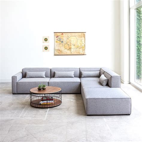 5 pc sectional sofa mix modular 5 pc sectional sectionals gus modern