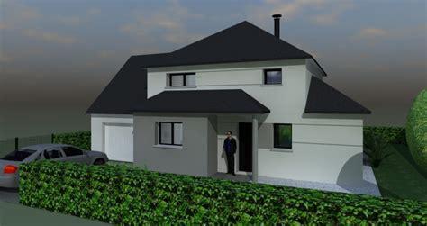 maison moderne  pans
