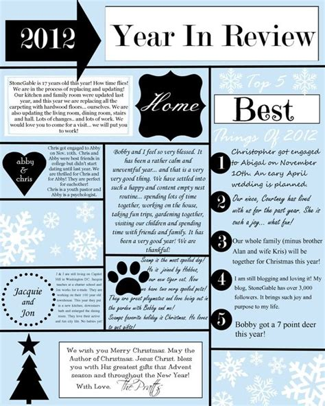 family year in review card template 1000 images about gt gt year in review