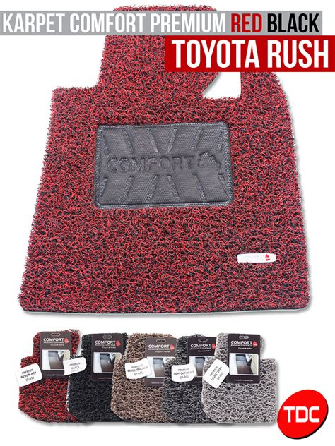 Karpet Comfort Premium Avanza toyota
