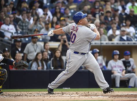 at age 42 mets pitcher bartolo colon hits his 1st career