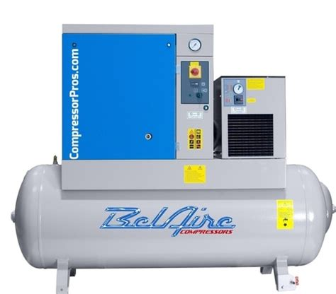 10 hp rotary air compressor with dryer belaire br25253d rotary air compressor w dryer