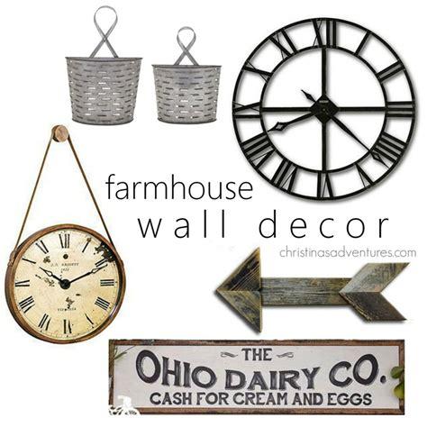 decorative wall ornaments farmhouse entry inspiration christinas adventures