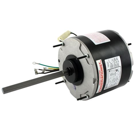 condenser fan motor lowes century 1 3 hp condenser fan motor fse1036sv1 the home depot