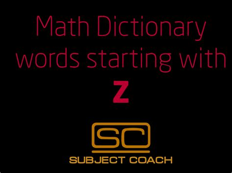 Meaning Of Mathematics Per Letter by Definition Of Zero Of A Function Math Definitions