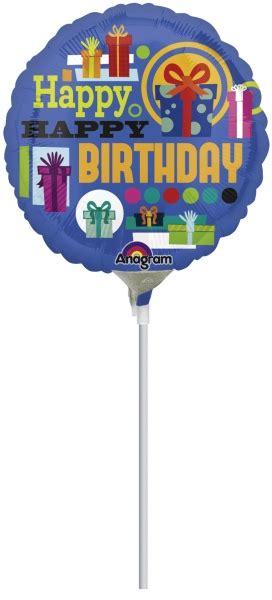 Balon Happy Birthday Mickey Mouse 22094 mini f 243 liov 253 bal 243 n happy birthday 4 180 180 partyspirit sk
